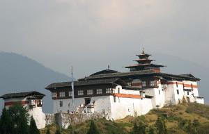 Daga Dzong Fortress in Bhutan