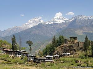 Drukgyal Dzong Fortress in Bhutan
