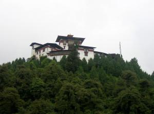 Gasa Dzong Fortress in Bhutan
