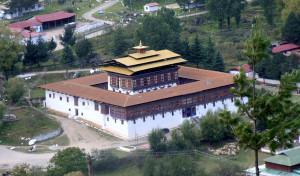 Haa Dzong Fortress in Bhutan