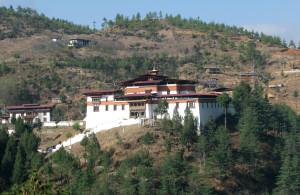 Simtokha Dzong Fortress in Bhutan