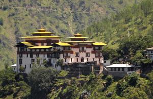 Trashigang Dzong Fortress in Bhutan