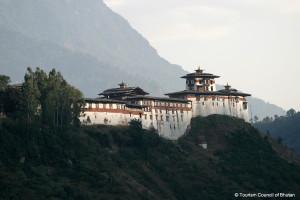Wangdue Phodrang Dzong Fortress in Bhutan