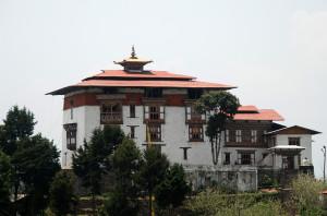 Zhemgang Dzong Fortress in Bhutan
